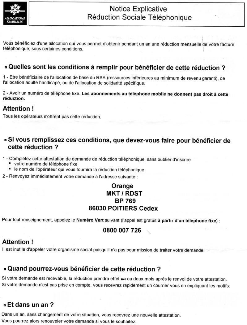 La Caf M A Envoye Un Document Demande De Reductio Communaute